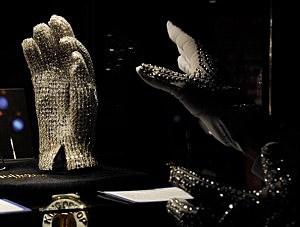Michael Jackson's Victory Tour Glove