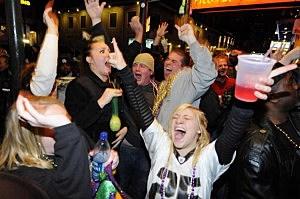 New Orleans Saints Fans pic