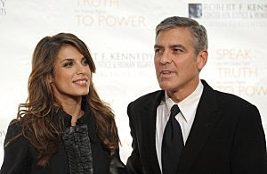 George Clooney and Elizabetta Canalispic