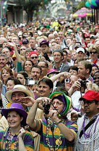 Mardi Gras Crowd