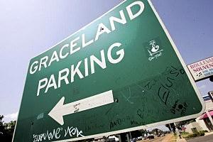 Graceland Parking Sign