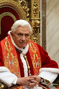 Photo of Pope Benedict XVI