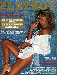 Farrah Fawcett Playboy Cover