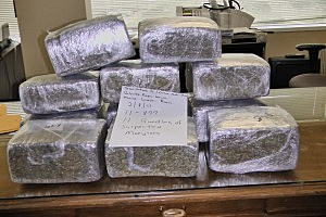 LSP Pot Bust on I-10