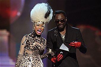 Nicki Minaj 2011 Grammy Awards