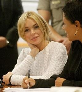 Lindsay Lohan Arraignment