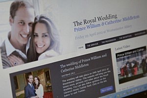 Clarence House launch Prince William and Kate Middleton Wedding website