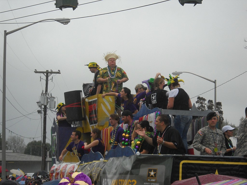 Mardi Gras 2011 Steve Wiley