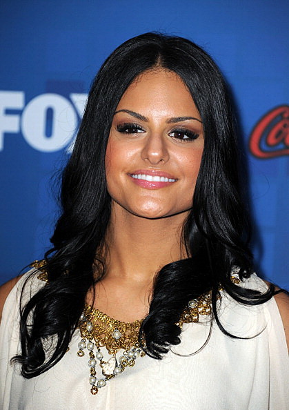 "Picture of Pia at Fox's ""American Idol"" Finalist Party"