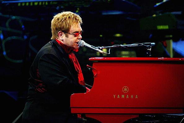 Picture of Sir Elton John Opens In Las Vegas