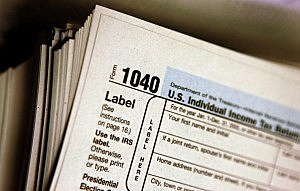 Photo of Tax Preparation Forms