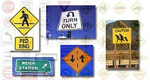 Lafayette Street Signs pic