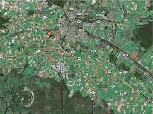 LA Hwy 90 at 14 map