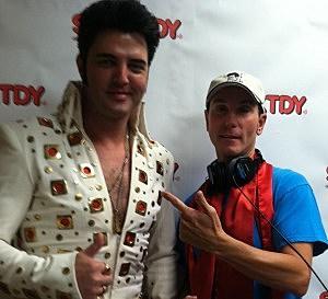 Ryan Pelton as Elvis