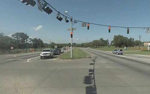 Highway 90 at University in Lafayette LA pic