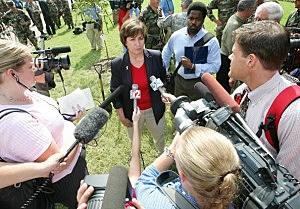 Kathleen Blanco After Hurricane Katrina