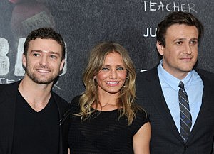 Photo of Cameron Diaz, Jason Segel and Justin Timberlake