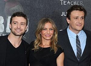 Photo of Cameron Diaz, Jason Segel and Justin Timberlake