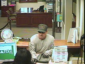 Johnston St. Bank Robbery Suspect