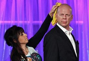 Wax Bruce Willis pic