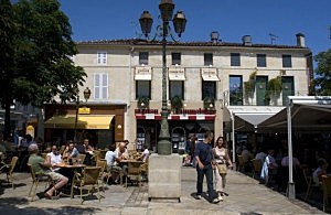 Street Cafe in France