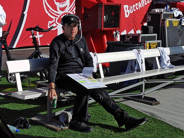 Coach Sean Payton of the New Orleans Saints