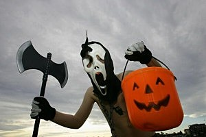 halloween scary guy