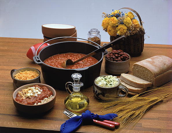 Picture of chili ingredients