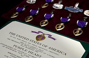 Picture of Purple Heart Medals