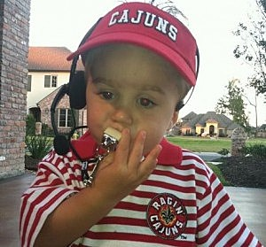 little ragin cajun fan