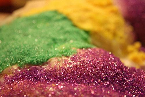 king cake sugar