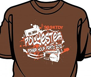 Polyester party shirt 2012