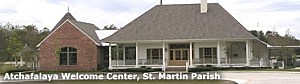 Pic of the Atchafalaya Welcome Center