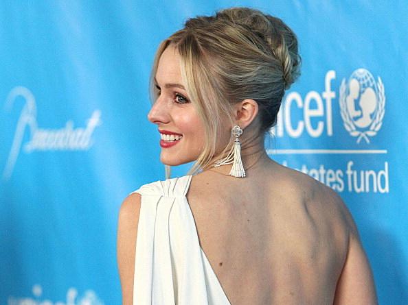 Kristen Bell Tattoos Under Chin: Kristen Bell Is A Body Of Lies [VIDEO]