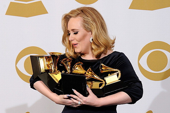 Adele At Grammys