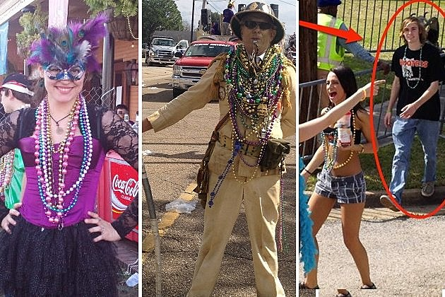 People of Mardi Gras