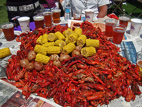 Lafayette High Cheerleader Crawfish Boil Fundraiser April 15th