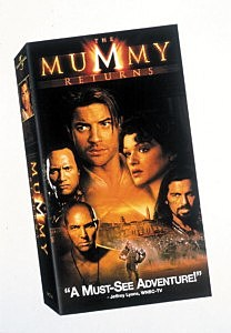 The Mummy Returns VHS