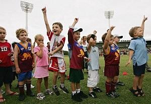 sports camp kids