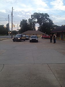 Lafayette City Police at Corner Pantry