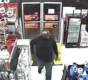 suspect in auto zone armed robbery