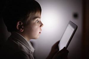Child With Tablet Technology