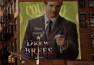drew brees country time