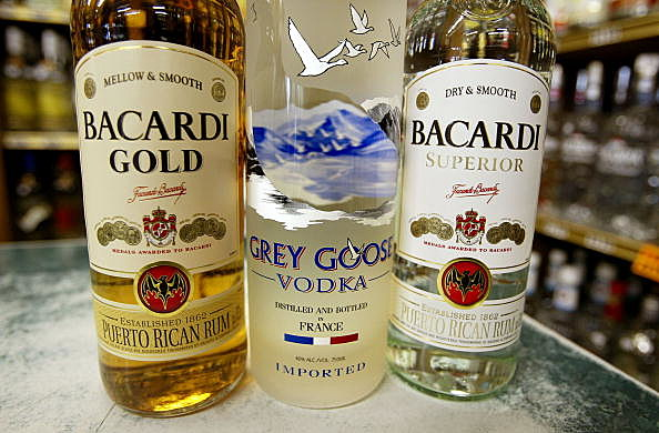 Bacardi Rum And Grey Goose