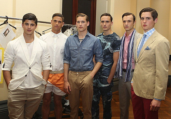 GQ Presents Boys Of The Australian Fashion Festival - Backstage
