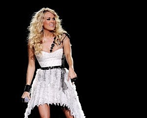 Carrie Underwood At The Staples Center