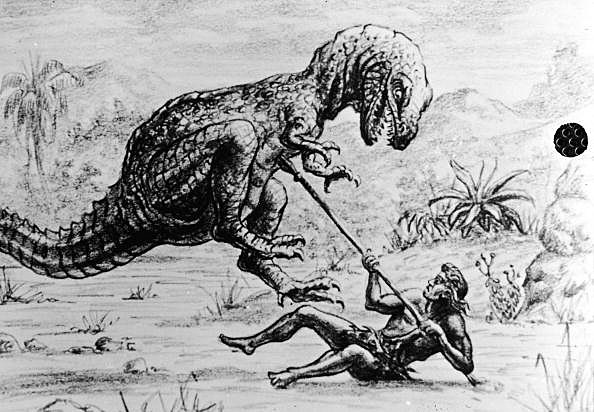 Illustration For Harryhausen Film