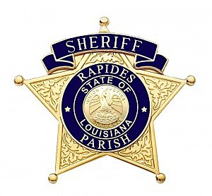 rapides sheriff badge