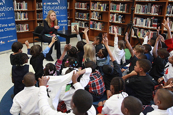 Chelsea Clinton Story Time Reading