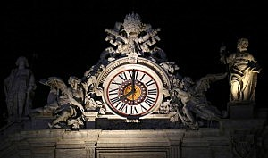 vatican clock
